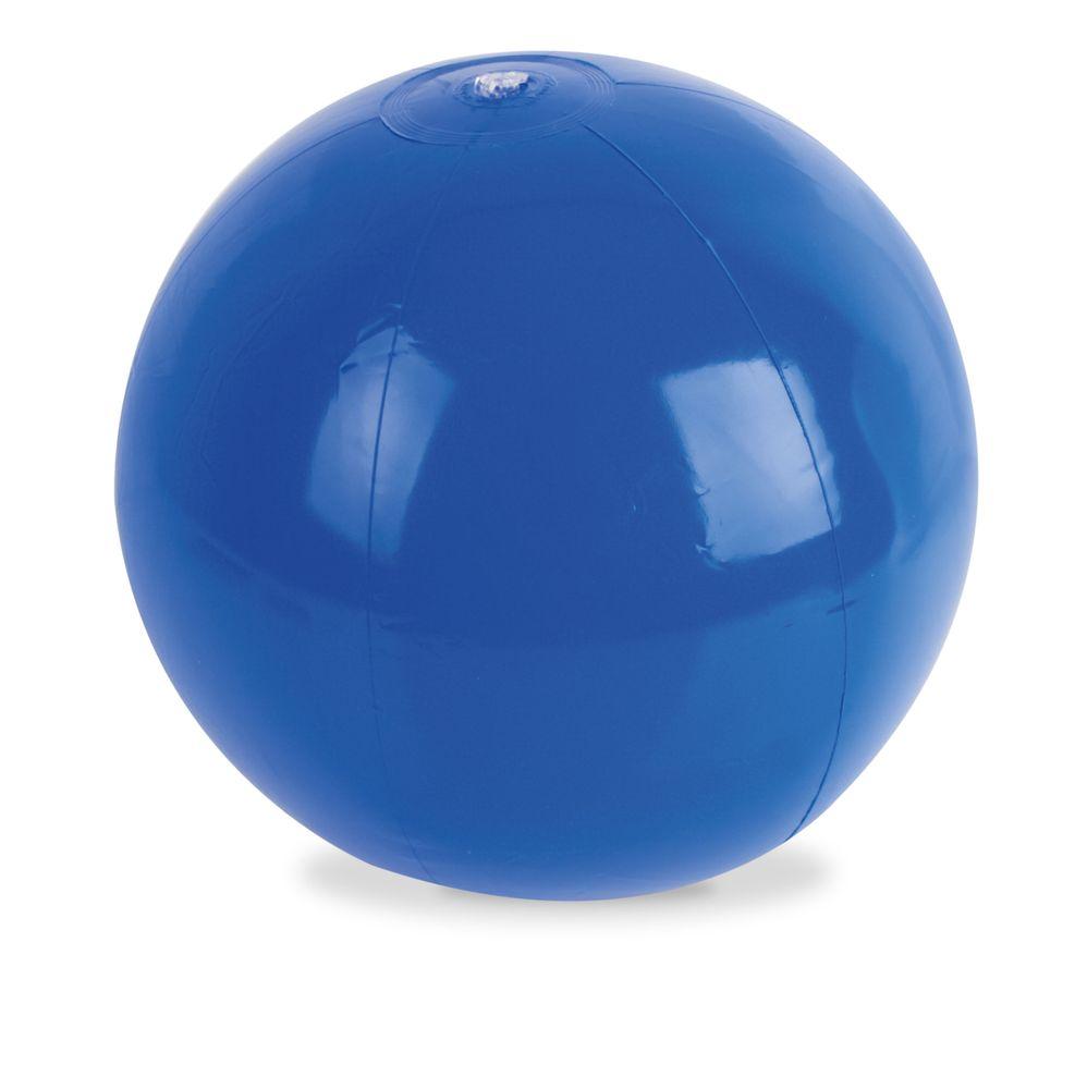 Plážový míč modrý s potiskem