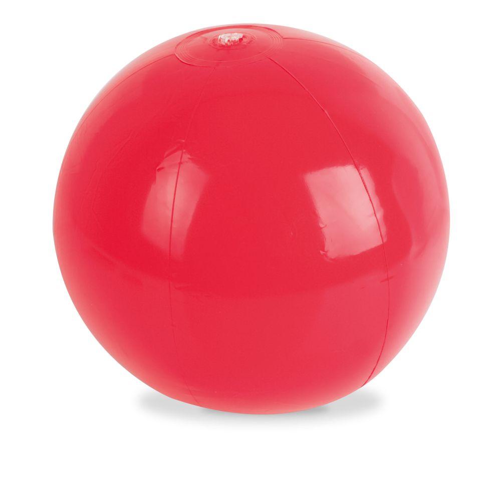 Plážový míč červený
