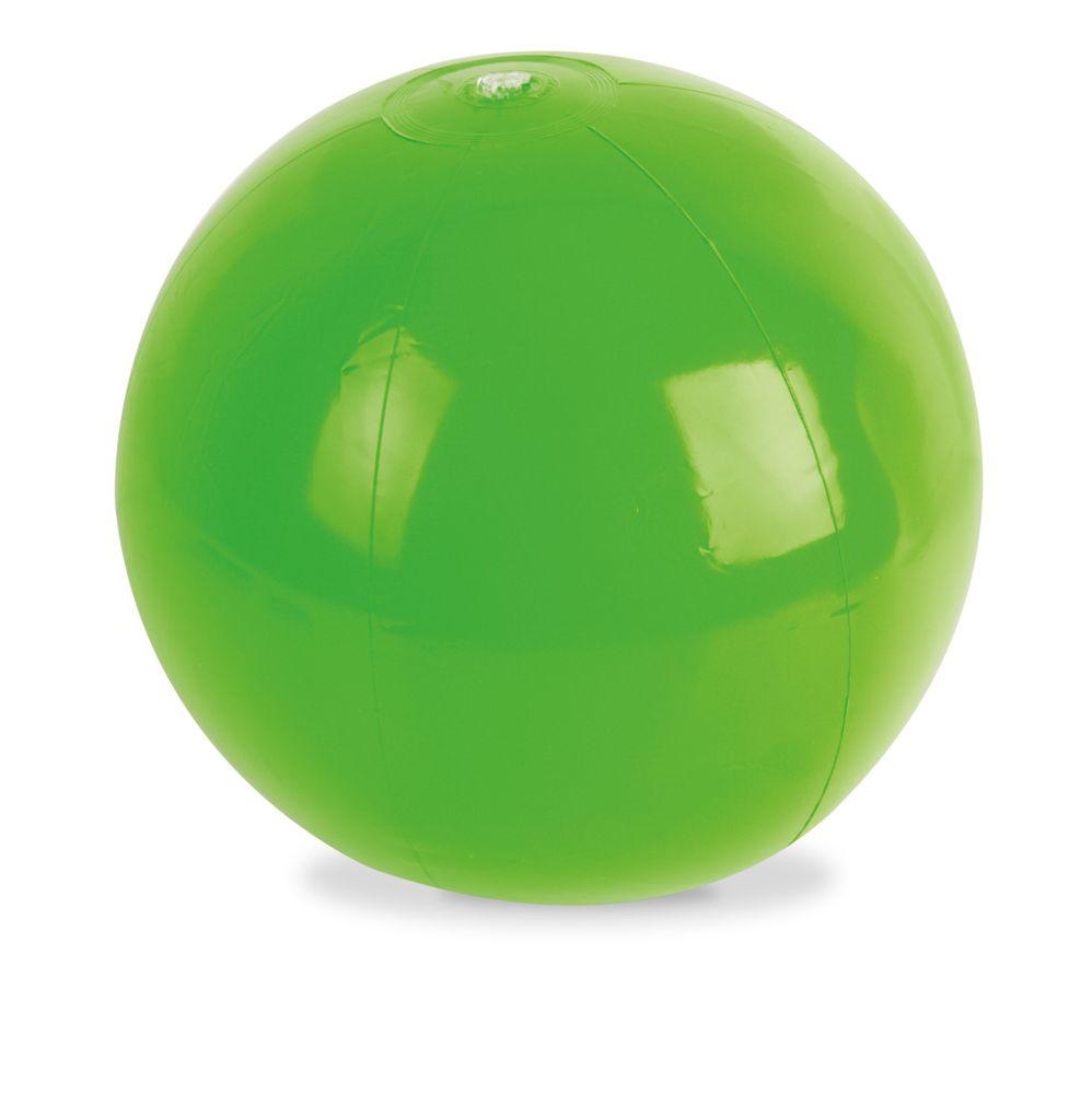 Plážový míč zelený