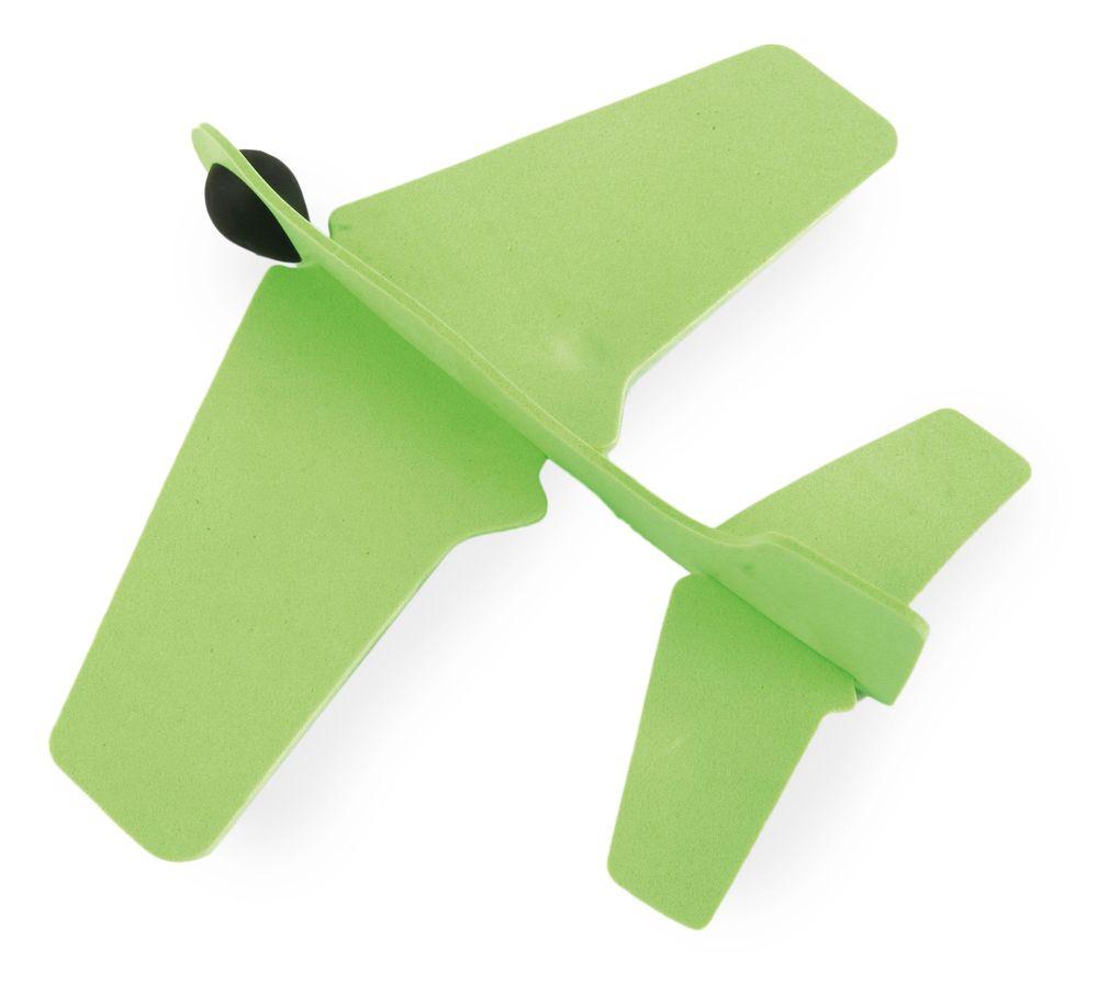 Letadýlko z gumy zelené