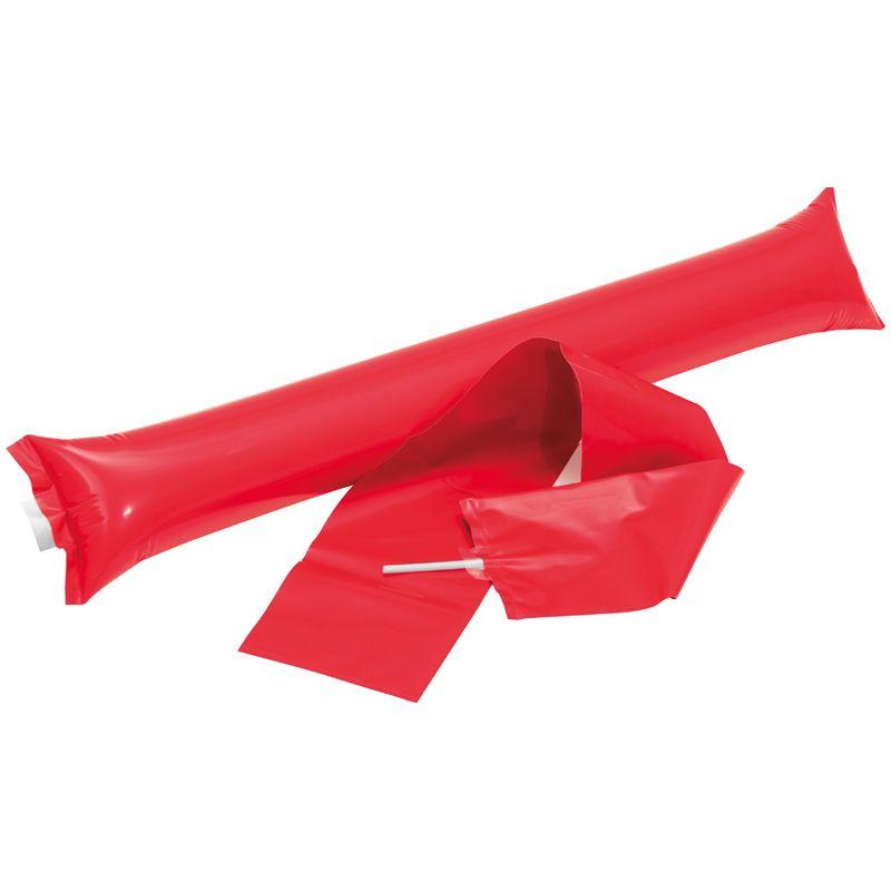 Bambam tyče červené