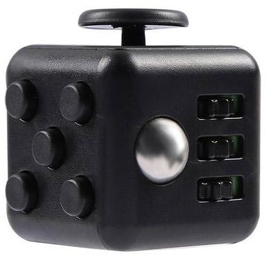 Fidget Cube černo-černá