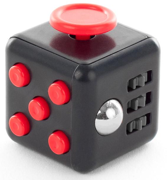 Fidget Cube černo-červená