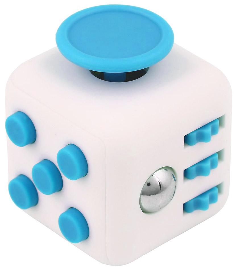 Fidget Dice bílo-modrá