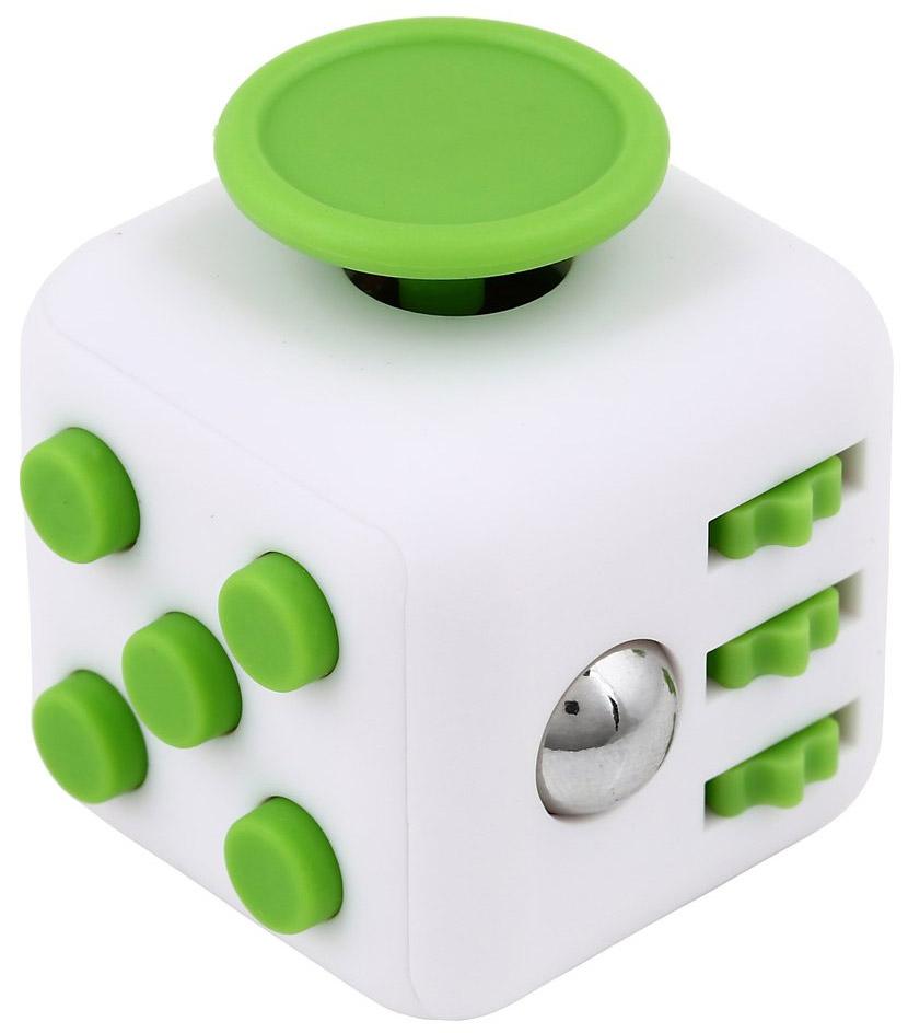 Fidget Cube bílo-zelená