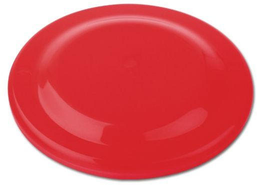 FRISBEE plastový létající talíř, červená