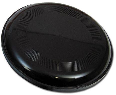 AERO plastový létající talíř, černá