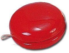 JO-JO plastové jo-jo, červená