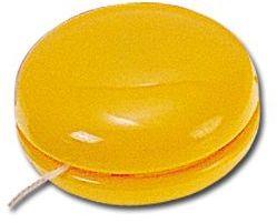 JO-JO plastové jo-jo, žlutá