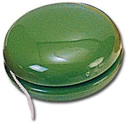 JO-JO plastové jo-jo, zelená s potiskem