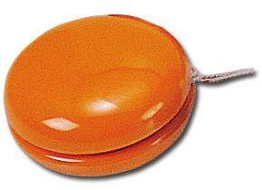 JO-JO plastové jo-jo, oranžová