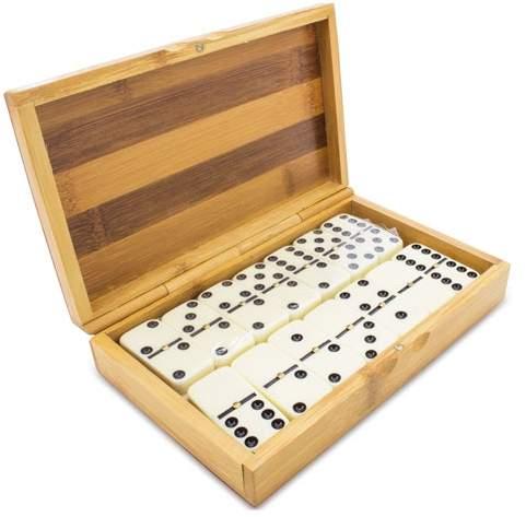 Domino v bambusové krabičce