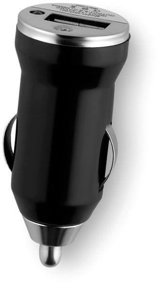 USB černá nabíječka do auta
