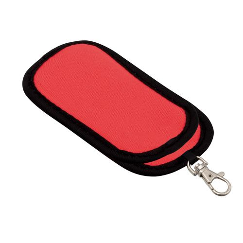 Fit červené pouzdro na flash disk