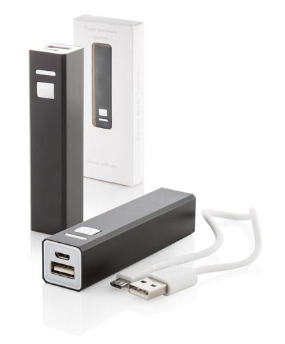 Thazer  černá USB power banka