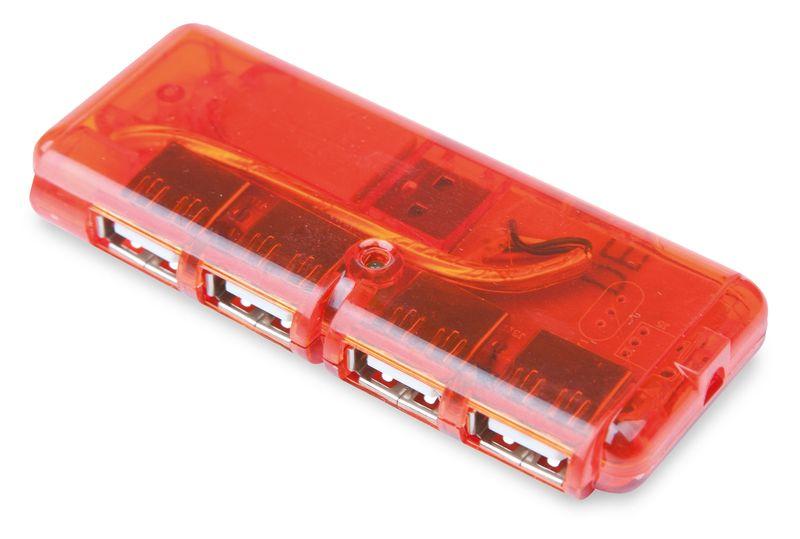 USB port Generation červená