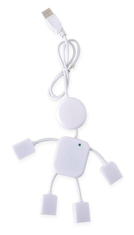 USB port Panák bílý