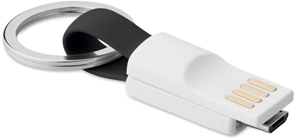 Klíčenka s micro USB kabelem