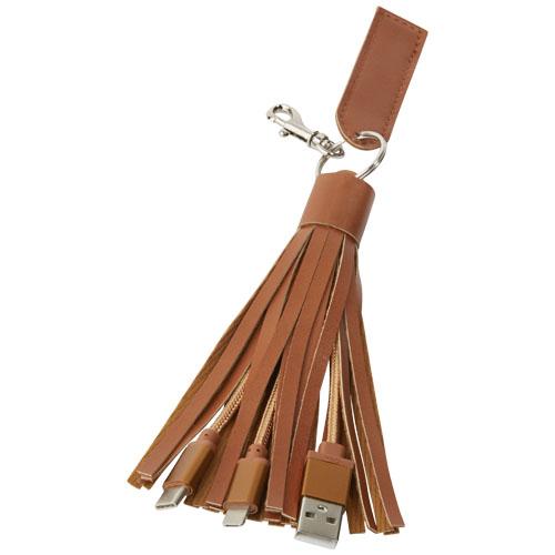 Kabel Tassel 3-v-1 s textilní dekorací