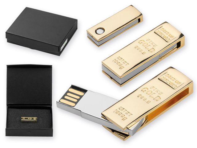 USB FLASH 51 kovový USB FLASH disk 8 GB, rozhraní 2.0.