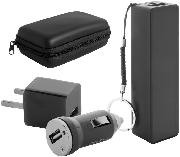 Rebex sada USB nabíječky a power banky