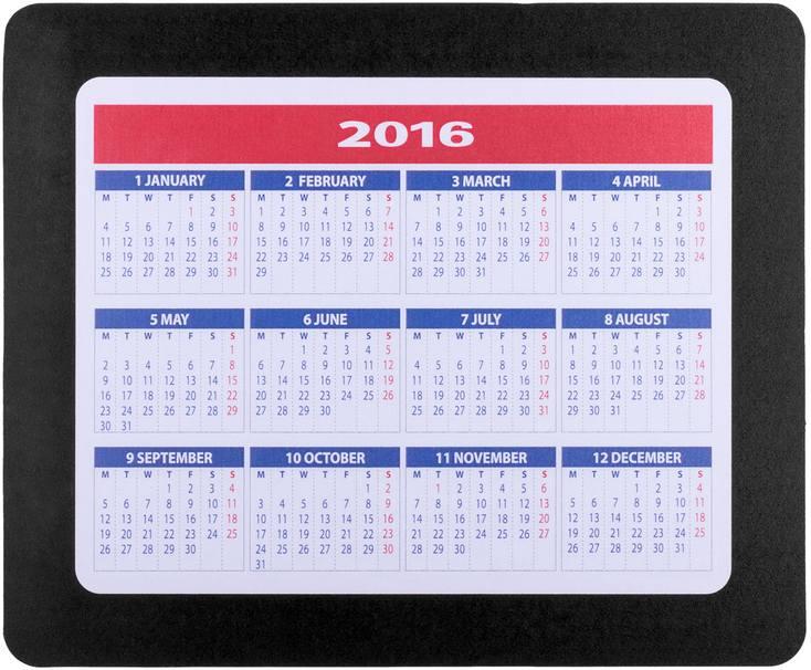 Aplix podložka pod myš s kalendářem