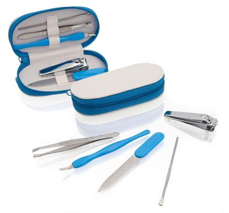 Beluchi modrý manikúrový set