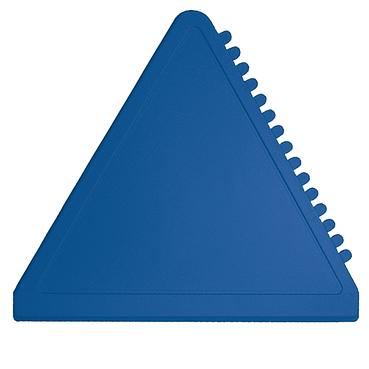 Modrá trojúhelníková škrabka