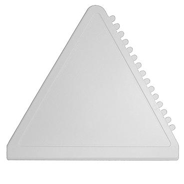 Bílá trojúhelníková škrabka