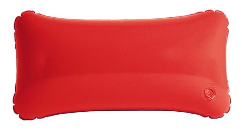 Cancún nafukovací červený polštář