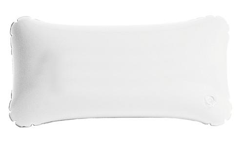 Cancún nafukovací bílý polštář