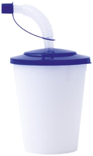 Chico modrý uzavíratelný plastový pohárek