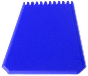 Modrá autoškrabka