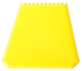Žlutá autoškrabka