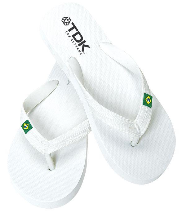 Brasileira Flip Flop bílá
