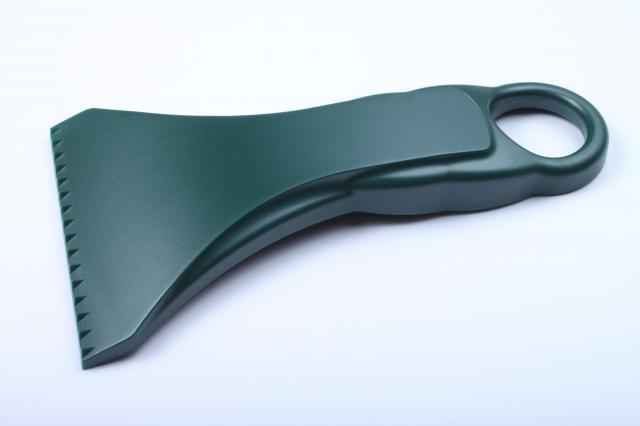 Ergonomická zelená autoškrabka