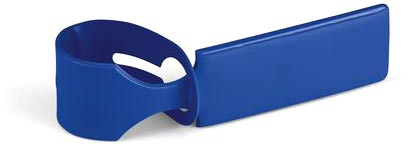 Visačka na kufr modrá