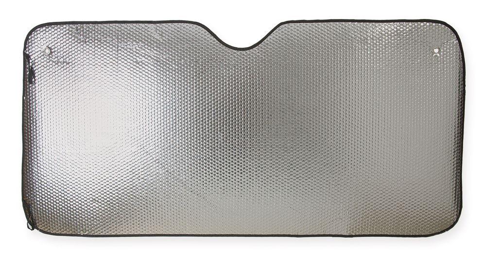 Velké metalické stínidlo předního skla pro auto