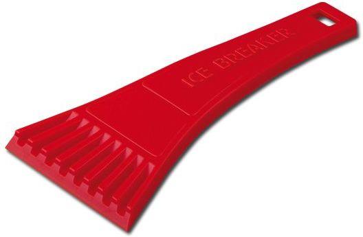 RIA plastová škrabka, červená
