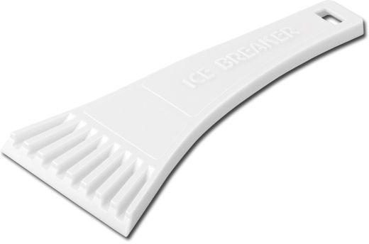 RIA plastová škrabka, bílá s potiskem
