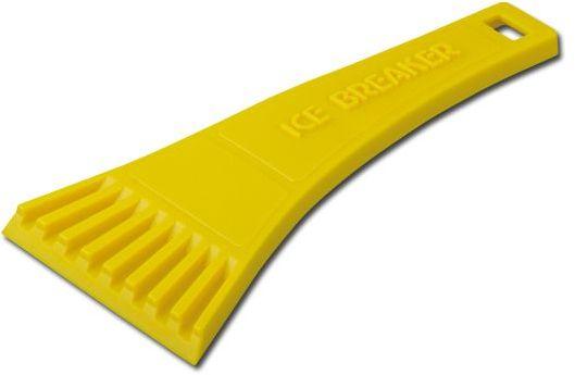 RIA plastová škrabka, žlutá