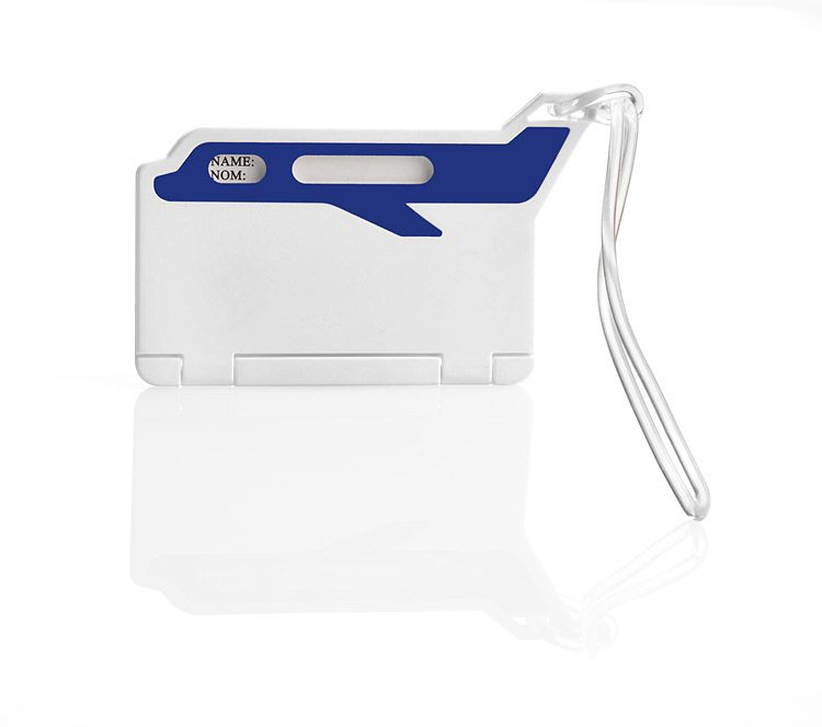 Jmenovka na zavazadla FLUG modrá