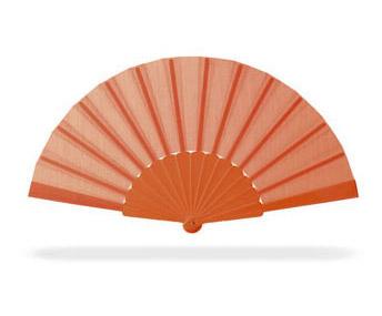 Oranžový vějíř