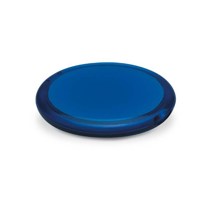 Modré transparentní dvojité zrcátko