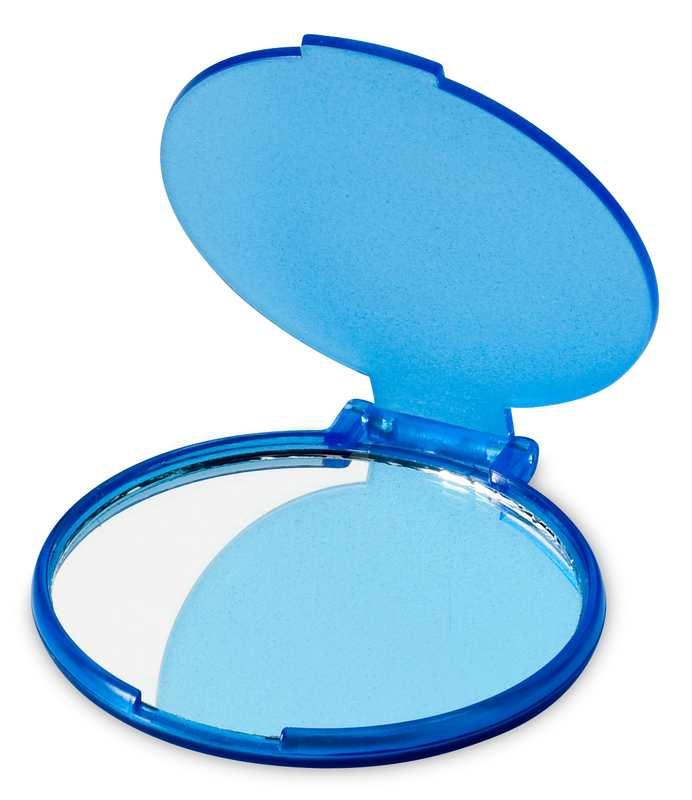 Zrcátko Mirror modré s potiskem