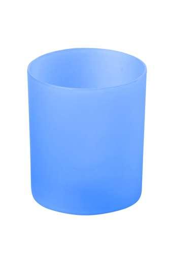 Fiobix modrá svíčka se světlem
