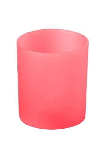 Fiobix červená svíčka se světlem