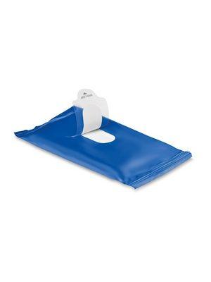 Vlhčené ubrousky modré