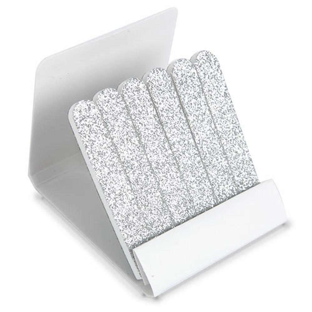 Krabička s pilníky stříbrná