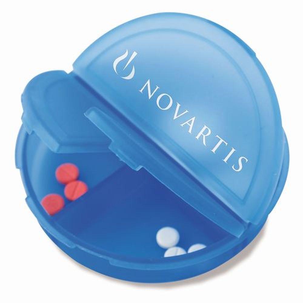 Kulatý pilulkovník modrý
